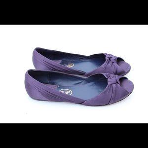 ASH peep toe flats